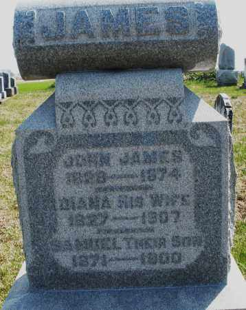 JAMES, JOHN - Preble County, Ohio | JOHN JAMES - Ohio Gravestone Photos