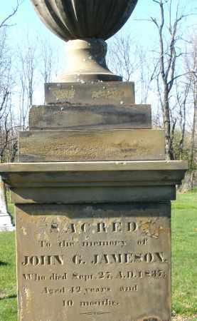 JAMESON, JOHN G. - Preble County, Ohio | JOHN G. JAMESON - Ohio Gravestone Photos