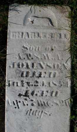 JOHNSON, CHARLES - Preble County, Ohio   CHARLES JOHNSON - Ohio Gravestone Photos