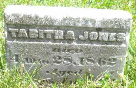 JONES, TABITHA - Preble County, Ohio | TABITHA JONES - Ohio Gravestone Photos
