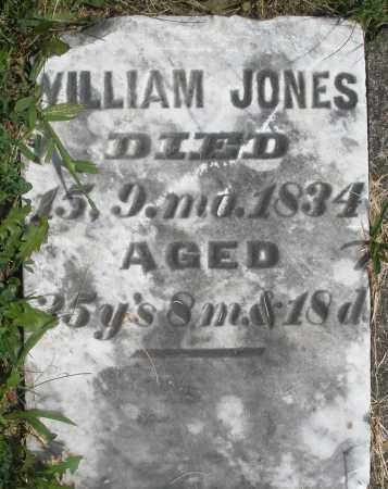 JONES, WILLIAM - Preble County, Ohio | WILLIAM JONES - Ohio Gravestone Photos