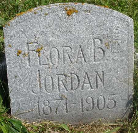 JORDAN, FLORA B. - Preble County, Ohio   FLORA B. JORDAN - Ohio Gravestone Photos