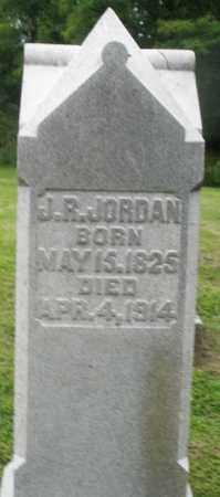 JORDAN, J.R. - Preble County, Ohio | J.R. JORDAN - Ohio Gravestone Photos