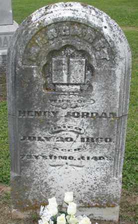 JORDAN, MARGARET - Preble County, Ohio | MARGARET JORDAN - Ohio Gravestone Photos
