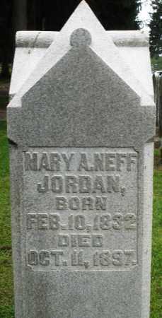 JORDAN, MARY A. - Preble County, Ohio | MARY A. JORDAN - Ohio Gravestone Photos