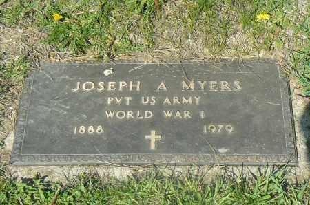 JOSEPH, MYERS - Preble County, Ohio | MYERS JOSEPH - Ohio Gravestone Photos