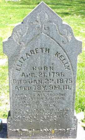 KELLY, ELIZABETH - Preble County, Ohio | ELIZABETH KELLY - Ohio Gravestone Photos