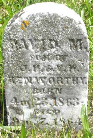KENWORTHY, DAVID M. - Preble County, Ohio | DAVID M. KENWORTHY - Ohio Gravestone Photos