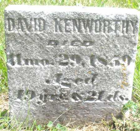 KENWORTHY, DAVID - Preble County, Ohio | DAVID KENWORTHY - Ohio Gravestone Photos