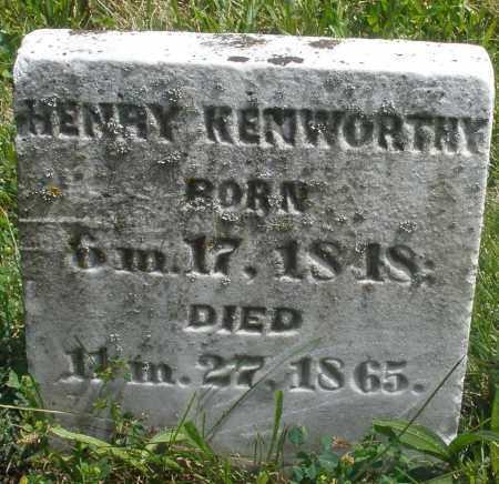 KENWORTHY, HENRY - Preble County, Ohio | HENRY KENWORTHY - Ohio Gravestone Photos