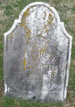 KEPLER, ELIZABETH - Preble County, Ohio | ELIZABETH KEPLER - Ohio Gravestone Photos