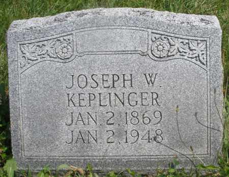 KEPLINGER, JOSEPH W. - Preble County, Ohio | JOSEPH W. KEPLINGER - Ohio Gravestone Photos