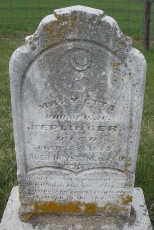 KEPLINGER, MARY ETTA - Preble County, Ohio | MARY ETTA KEPLINGER - Ohio Gravestone Photos