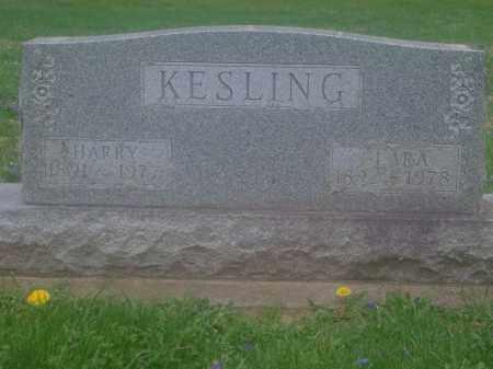 KESLING, CLARA - Preble County, Ohio | CLARA KESLING - Ohio Gravestone Photos