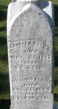 KESSLER, GEORGE A. - Preble County, Ohio | GEORGE A. KESSLER - Ohio Gravestone Photos