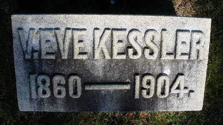KESSLER, V. EVE - Preble County, Ohio | V. EVE KESSLER - Ohio Gravestone Photos