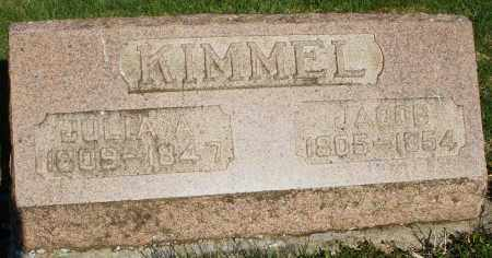 KIMMEL, JULIA A. - Preble County, Ohio | JULIA A. KIMMEL - Ohio Gravestone Photos