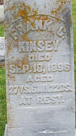KINSEY, FRANK - Preble County, Ohio   FRANK KINSEY - Ohio Gravestone Photos