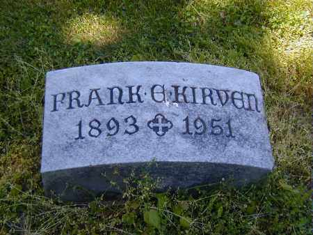 KIRVEN, FRANK E. - Preble County, Ohio   FRANK E. KIRVEN - Ohio Gravestone Photos