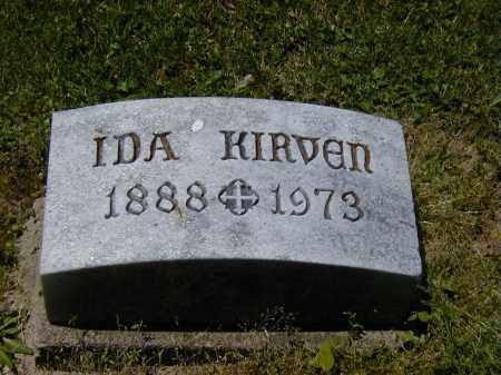 KIRVEN, IDA - Preble County, Ohio | IDA KIRVEN - Ohio Gravestone Photos