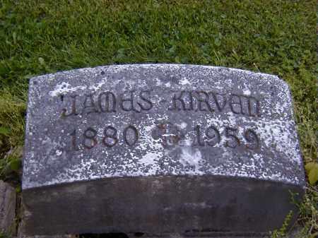 KIRVEN, JAMES - Preble County, Ohio | JAMES KIRVEN - Ohio Gravestone Photos