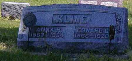 KLINE, EDWARD C. - Preble County, Ohio | EDWARD C. KLINE - Ohio Gravestone Photos