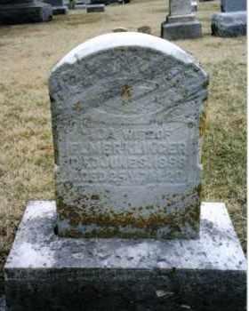 KLINGER, ADA - Preble County, Ohio   ADA KLINGER - Ohio Gravestone Photos