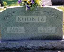 KOONTZ, LEVEN T. - Preble County, Ohio | LEVEN T. KOONTZ - Ohio Gravestone Photos