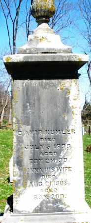 KUMLER, ANNA - Preble County, Ohio | ANNA KUMLER - Ohio Gravestone Photos