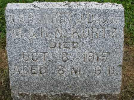 KURTZ, MARGARET - Preble County, Ohio | MARGARET KURTZ - Ohio Gravestone Photos