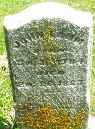 LAMM, JOHN - Preble County, Ohio | JOHN LAMM - Ohio Gravestone Photos