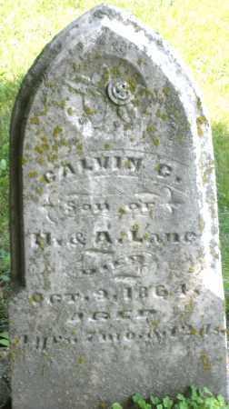 LANE, CALVIN - Preble County, Ohio | CALVIN LANE - Ohio Gravestone Photos