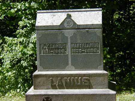 LANIUS, R.Y. - Preble County, Ohio | R.Y. LANIUS - Ohio Gravestone Photos