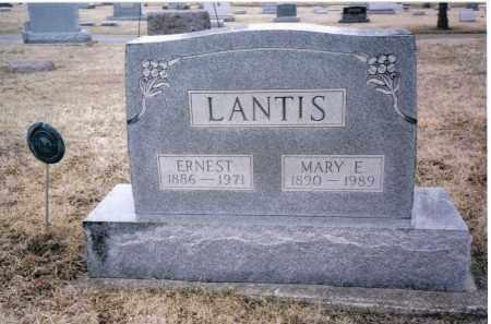 LANTIS, ERNEST - Preble County, Ohio | ERNEST LANTIS - Ohio Gravestone Photos