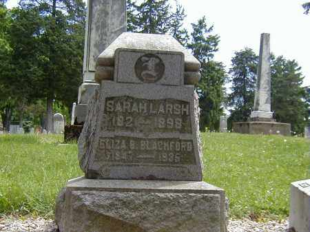 LARSH, SARAH - Preble County, Ohio | SARAH LARSH - Ohio Gravestone Photos