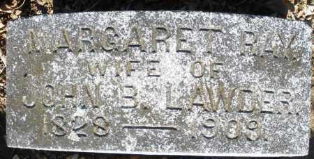 RAY LAWDER, MARGARET - Preble County, Ohio | MARGARET RAY LAWDER - Ohio Gravestone Photos