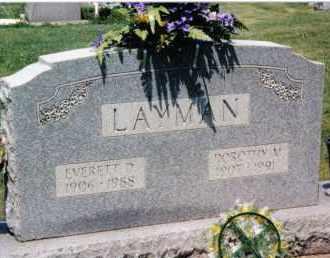 LAYMAN, EVERETT D. - Preble County, Ohio | EVERETT D. LAYMAN - Ohio Gravestone Photos