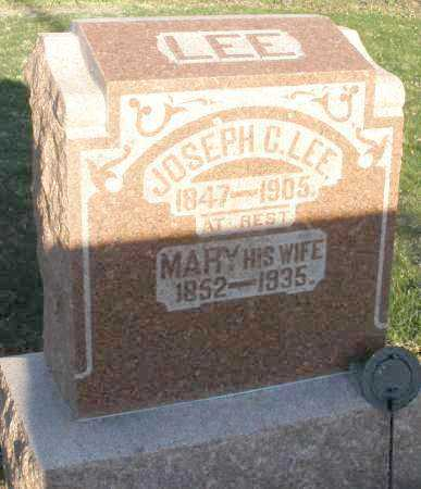 LEE, MARY - Preble County, Ohio | MARY LEE - Ohio Gravestone Photos