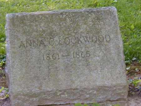 LOCKWOOD, ANNA C. - Preble County, Ohio | ANNA C. LOCKWOOD - Ohio Gravestone Photos