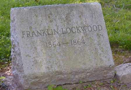 LOCKWOOD, FRANKLIN - Preble County, Ohio | FRANKLIN LOCKWOOD - Ohio Gravestone Photos
