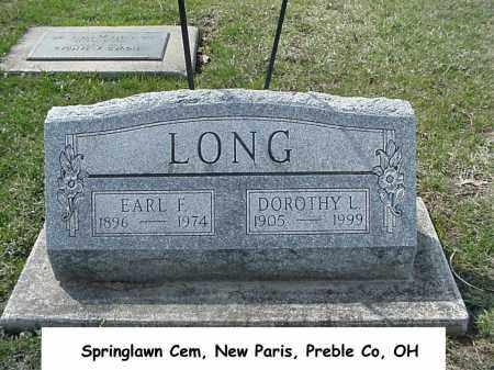 LONG, DOROTHY - Preble County, Ohio | DOROTHY LONG - Ohio Gravestone Photos