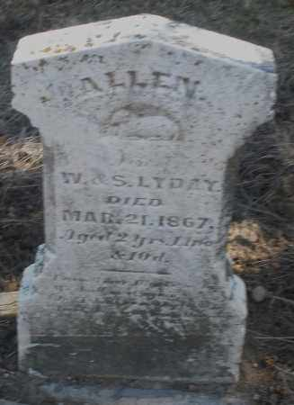 LYDAY, ALLEN - Preble County, Ohio   ALLEN LYDAY - Ohio Gravestone Photos
