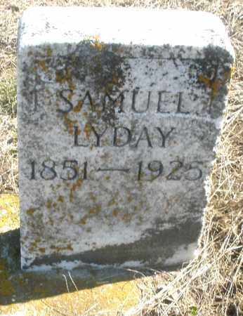 LYDAY, SAMUEL - Preble County, Ohio | SAMUEL LYDAY - Ohio Gravestone Photos