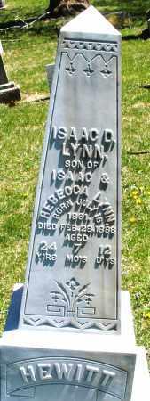 LYNN, ISAAC D. - Preble County, Ohio | ISAAC D. LYNN - Ohio Gravestone Photos