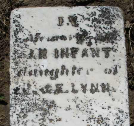 LYNN, INFANT DAUGHTER - Preble County, Ohio | INFANT DAUGHTER LYNN - Ohio Gravestone Photos