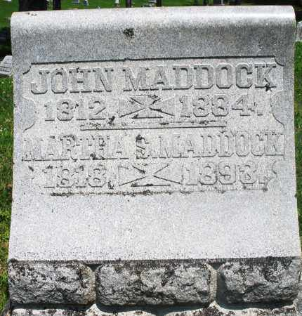 MADDOCK, JOHN - Preble County, Ohio | JOHN MADDOCK - Ohio Gravestone Photos