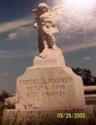 J MARKER, CORDELLIA - Preble County, Ohio | CORDELLIA J MARKER - Ohio Gravestone Photos