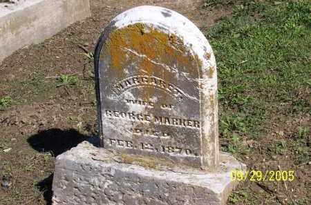 STRUM MARKER, MARGARETHA - Preble County, Ohio | MARGARETHA STRUM MARKER - Ohio Gravestone Photos