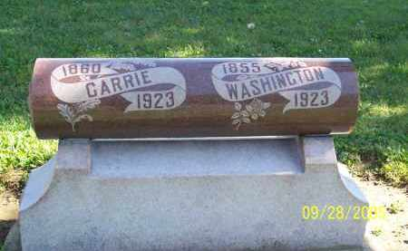 MARKER, CARRIE - Preble County, Ohio | CARRIE MARKER - Ohio Gravestone Photos