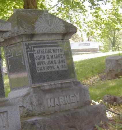 MARKEY, CATHERINE - Preble County, Ohio | CATHERINE MARKEY - Ohio Gravestone Photos